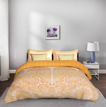 Jaali 5 Piece King Size 100% Cotton Quilted Bedspread with 4 Shams - $260.00