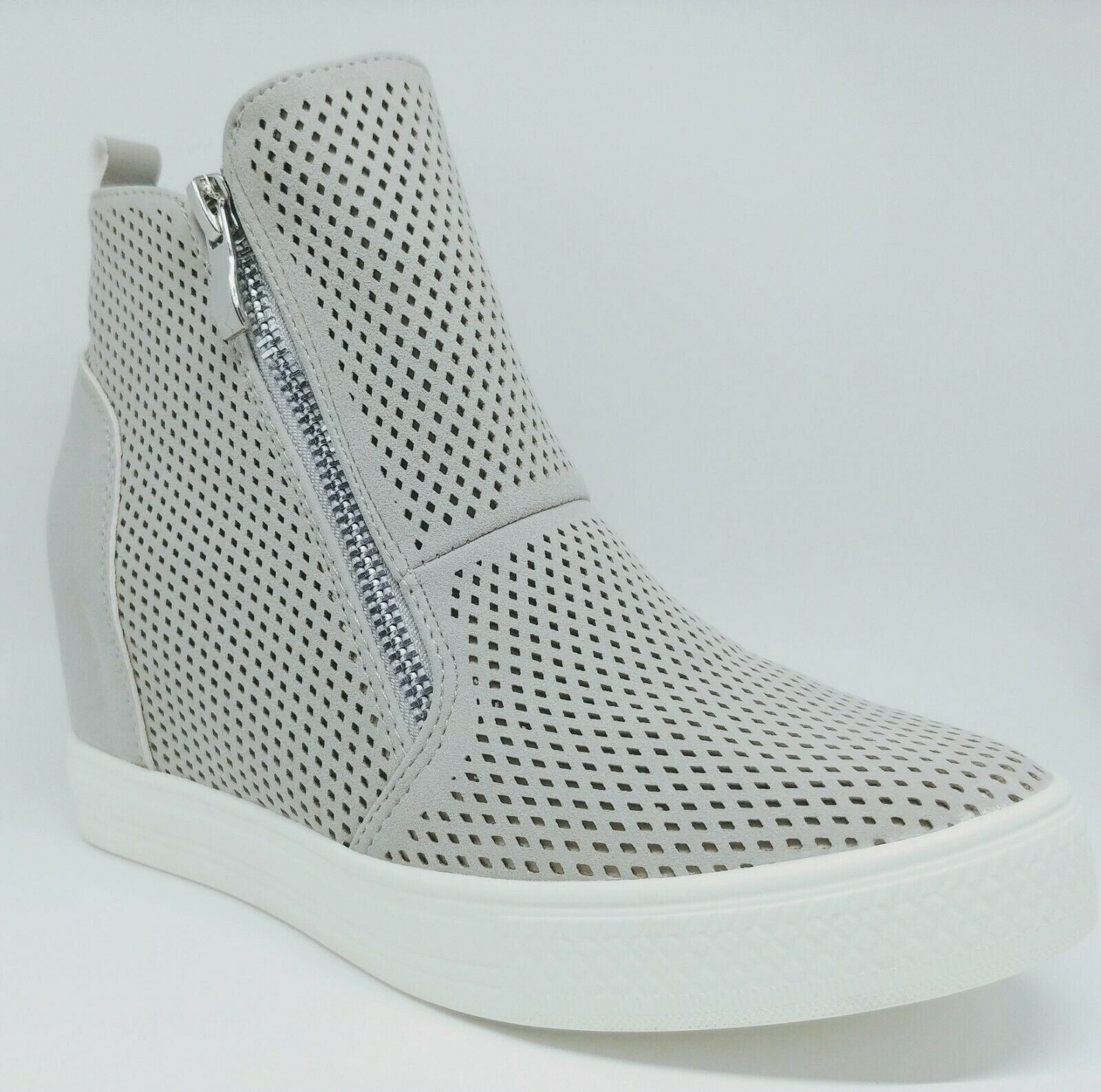 Women wedge sneakers Gray