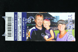 Colorado Rockies vs Pittsburgh Pirates MLB Ticket w Stub 07/17/2012 Year Fan - $8.17