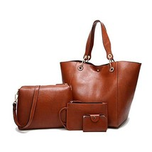 Purses and Handbags Fashion Coach Bags Large Shoulder Bags for Women Bro... - $25.98
