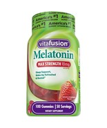 Vitafusion Max Strength Melatonin Gummies, 100 CT - $28.51