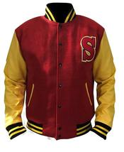 Crows Tom Welling Smallville Letterman Clark Kent Varsity Bomber Jacket  image 5