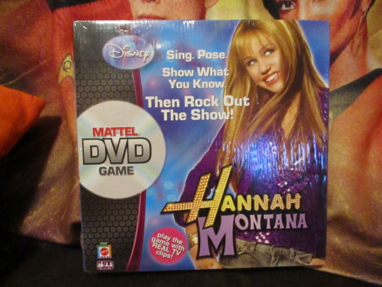Primary image for Hannah Montana Mattel DVD Game