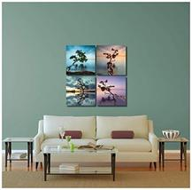 "Pingo World 0816Q8DIMGM ""Water Trees"" Gallery Wrapped Canvas Wall Art Set, Varia - $48.46"