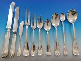 Palm by Tiffany and Co. Sterling Silver Flatware Set Dinner Service 286 Pieces - $39,995.00