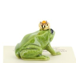 Birthstone Frog Prince November Simulated Citrine Miniatures by Hagen-Renaker image 4