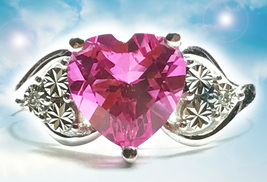HAUNTED RUBY RING BRING BACK LOVE TO ME AGAIN EXTREME MAGICK MYSTICAL TREASURE - $377.77