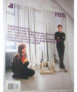 RES Film, Music, Art, Design & Culture Magazine Vol. 7 NO. 1 U.S.A - $12.08
