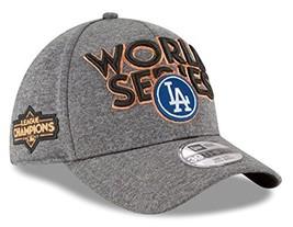 Era Los Angeles Dodgers 39THIRTY 2017 NLCS Champions Locker Room Men's Hat - $24.71