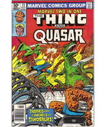 Marvel Two-In-One Comic Book #73 The Thing and Quasar, Marvel 1981 NEAR ... - $4.50