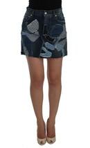 Dolce & Gabbana Blue Denim Stretch Mini Skirt - $267.59