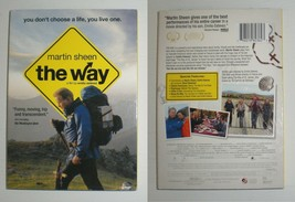The Way with Emilio Estevez & Martin Sheen - dvd - $2.22