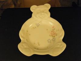 Adorable Pflatzgraff Tea Rose Pattern Teddy Bea... - $22.76