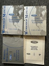 2005 Ford Expedition Lincoln Navigator Riparazione Servizio Shop Manuale... - $59.35