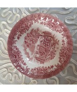 Churchill  Brook Cereal Pink China Bowl Colombia 6 3/8 in Made in England  - $7.92
