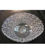 ABP cut glass oval bowl American brilliant - $275.48