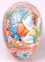 "Vtg Papier Mache Egg Box-Duck Rabbit-Made in West Germany-Paper-3.25"" - $24.30"