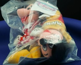 Spirit of Mickey Mouse Bean Bag Plush Set Minnie Mouse NEW Disney Store - $15.99
