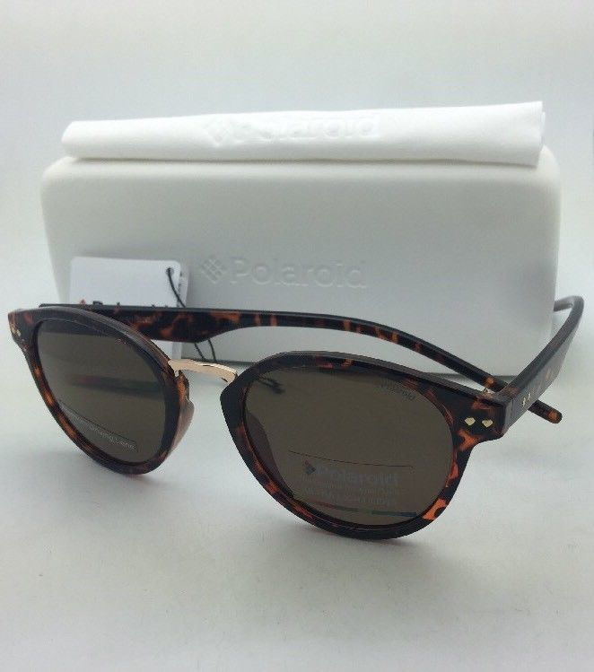 POLAROID Sunglasses PLD 1022/S V08IG 50-21 Havana Tortoise w/ Brown Polarized