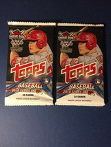 2018 Topps Baseball Wax Pack Series 1 Factory Sealed - $2.99