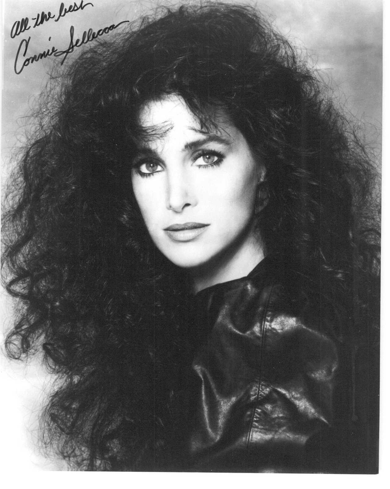 Primary image for Connie Sellecca Signed Autographed Glossy 8x10 Photo