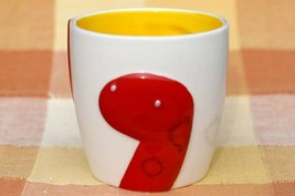 New Starbucks 2013 Zodiac mug cup  12 fl oz Snake white & red Japan limited - $199.98