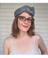 Vintage Pigeon Blue Hat Summer - $19.00