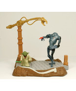 Star-Wars AOTC YODA with Force Powers! Deluxe Hasbro loose - $10.99