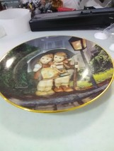 """M I Hummel Plate Little Companions - """"Stormy Weather"""" - $5.47"""