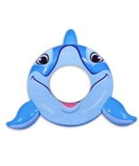 Dolphin Swim Ring for Pool Time Fun - £16.23 GBP
