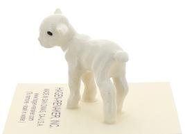 Hagen-Renaker Miniature Ceramic Lamb Figurine Baby White Single image 4