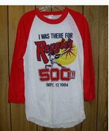 Reggie Jackson 500th Home Run T Shirt Vintage 1984 - $194.99