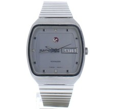 Rado Voyager Silver Dial Stainless Steel Mens Watch 636.3262.4.8 - $604.75