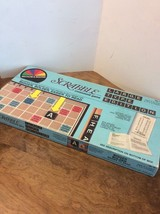 Scrabble Crossword Game Large Type Edition 1976 - $25.00