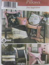 Simplicity 5236 Pattern Pillows in Various Styles Uncut Factory Folded - $4.94