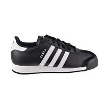 Adidas Samoa Big Kids' Shoes Black-White-Black g20687 - £48.13 GBP