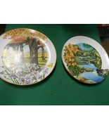Royal Windsor WILD FLOWERS OF THE SOUTH Two Collector Plates..see listing - $12.46