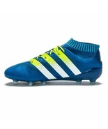 New Adidas Ace 16.1 Men Primeknit Firm Ground Soccer Cleats Blue Variety... - $152.99