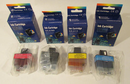 Compatible with Bro Ink Cartridge LC-41BK, LC-41Y, LC-41M, LC-41C  - $9.48