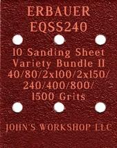 ERBAUER EQSS240 - 40/80/100/150/240/400/800/1500 - 10pc Variety Bundle II - $12.46