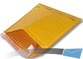 100 6.5x10 Kraft Bubble Mailer CD Envelope Shipping Sealed Air Paper Mai... - $17.49