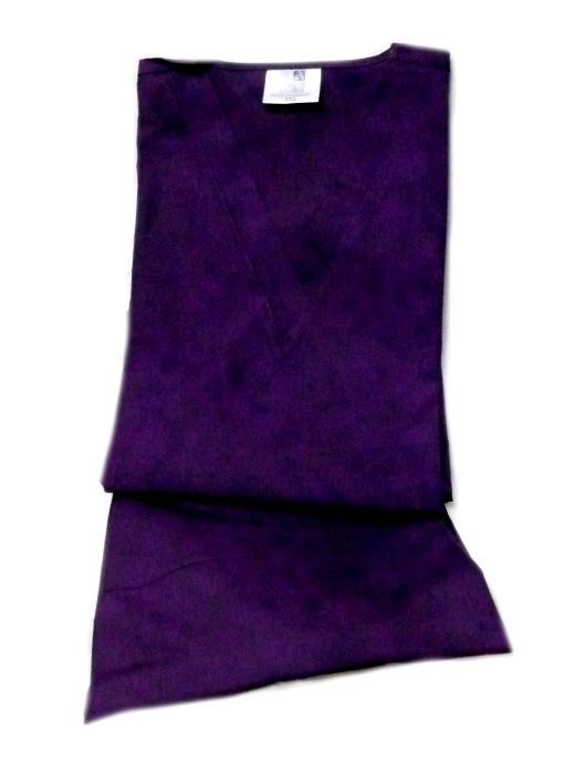 Purple Scrub Set Large V Neck Top Drawstring Pants Unisex Adar Uniforms New image 7
