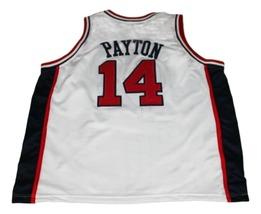 Gary Payton #14 Team USA New Men Basketball Jersey White Any Size image 2