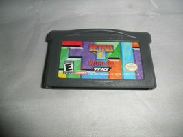 Nintendo GBA, Game Boy Advance Game ~ Tetris Worlds - $3.91