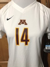 MINNESOTA GOLPHERS S/S Game NIKE NWT Women's Volleyball Jersey Shirt 658067 - €17,56 EUR