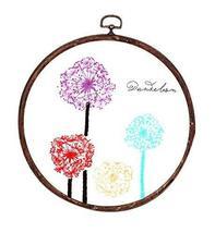 Handmade Embroidery DIY Cloth Materials Ribbon Cross Stitch Kits, Colorf... - $20.03