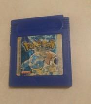 Pokemon edicion azul nintendo game boy guarda partida idioma español  - $21.47
