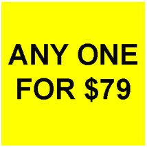 WED-THURS PICK ANY 1 FOR $79 DEAL BEST OFFERS DISCOUNT MAGICK  - Freebie