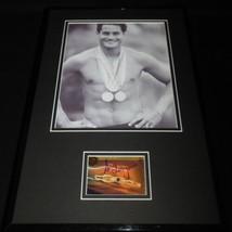 Greg Louganis Signed Framed 11x17 Photo Display C - $65.09