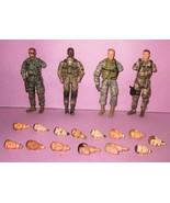 "HUGE BBI 3.75"" Military Figure Elite Force 1:18 1/18 Paratrooper Custom ... - $35.00"